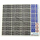 Microdesign 035392 Color photoetched russian Military  MVD license plates 1/35