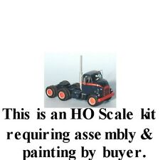 """HO SCALE: 1954-59 GMC """"CANNONBALL"""" TANDEM AXLE TRACTOR w/DAY CAB-Sylvan V-054"""