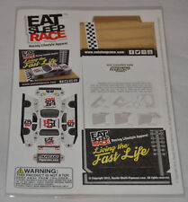 NEW! Sealed! Eat Sleep Race - Papecarz (Paper Car) Folding Race Car w/ Display