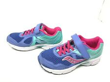 Girls Saucony (SC57945) Cohesion 10 AC Lavender/mint/pink Running Shoes (422H)