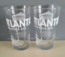 X2 Sharps Atlantic Pale Ale Pint Glas$es Brand New Free P/&P