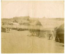 China Kiautschou 1899 Original photo Tapantau [North of Tsingtao] - fault streak