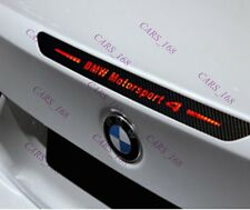Amazing Carbon Fiber Break Light Stickers Adhesive Graphic For BMW 4