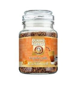 DOUWE EGBERTS INSTANT COFFEE CARAMEL FLAVOR 98gr