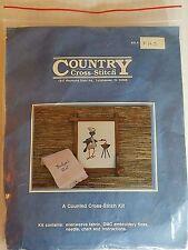 Country Cross Stitch BACKYARD CHEF Counted Cross Stitch Kit NEW FA3