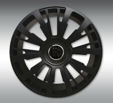 SPOFEC SP1 Matte Black Wheels with Tires - Rolls Royce Ghost / Wraith / Dawn