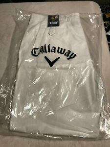 Callaway Golf Men's Performance Golf Pants 100% Cotton 30 X 32 NEW