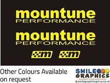 New MOUNTUNE PERFORMANCE Stickers - Other Colours Available - ST RS Fiesta Focus