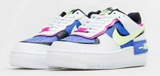 Nike Air Force 1 Shadow White Sapphire Volt CJ1641-100 Women's 11.5 Men's 10