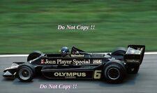 Ronnie Peterson JPS Lotus 79 Winner Austrian Grand Prix 1978 Photograph 5