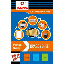 TCLPVC Dragon Sheet Pvc ID Card Identity Card Plastic Sheets HD 50+100 Sheets A4