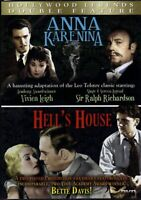 Anna Karenina Hell's House slim Case double Feature On DVD With Vivien E82