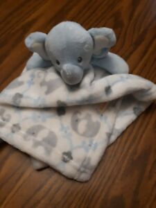 Blankets and Beyond Blue Elephant Security baby Blanket Boy Lovey