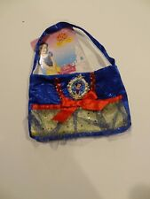 New Disney Snow White Girls Princess Purse Costume/ Dress Up- Blue, Red, Yellow