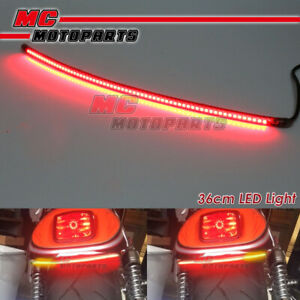 AMP-Z 37cm Smoke With Signal Light LED Tail Light bar Tube For Kymco motorcycles