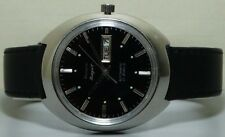 VINTAGE HMT Rajat Automatic Day Dare MENS WRIST WATCH r806 OLD ANTIQUE