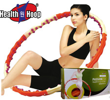 Health Hoop®-  Passion Weighted Magnetic  fat burning Hula Hoop  Workout