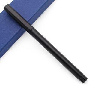 JINHAO 65 Steel Body Fountain Pen EF 0.38mm Nib Metal Ink Pen With A Converter