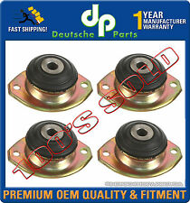 PORSCHE 911 ENGINE MOTOR TRANSMISSION MOUNT MOUNTS LEFT RIGHT 91137504300 SET 4