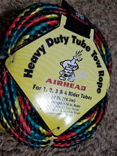 (4) Rider Tube Tow Rope Nylon 4,150 Pounds Tensile Strength (60 ft) Water Sport