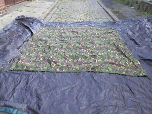Genuine British Army Issue DPM Waterproof Shelter Basha Sheet Tarp  sizes 7×8 ft