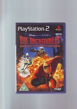 THE INCREDIBLES RISE OF THE UNDERMINER - KID CHILD PS2 GAME OF DISNEY PIXAR FILM