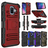 For Samsung Galaxy A6 Case Shockproof Holster With Belt Clip Stand Phone Cover