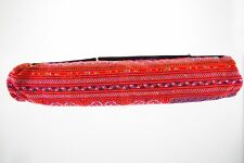 Mat Carrier Yoga Bag Thai Ethnic Fabric Handmade Multi Color Pilates Accessories