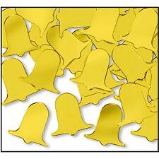 Gold Bell Confetti Weddings Anniversary Beistle 50623-GD Fanci-Fetti Bells