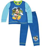 Para Niños Disney Mickey Mouse Pijamas Algodón Pijama 1-4 Años