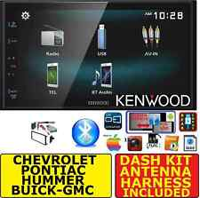 GM CAR-TRUCK-VAN-SUV KENWOOD SCREEN MIRROR BLUETOOTH CAR RADIO STEREO PKG