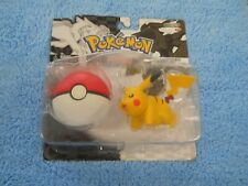 Pokemon Black and White Pikachu & Soft Pokeball Jakks Pacific Figure Set