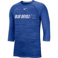 Duke Blue Devils Nike Dri Fit Raglan shirt Men's Large nwt - Free Ship