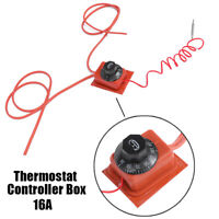 16A All-Purpose Mechanical Dial Thermostat Controller Box Parts 30-150 Deg C