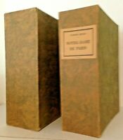 NOTRE-DAME DE PARIS by Victor Hugo Limited Editions Club 1930 #496 Illus. Signed