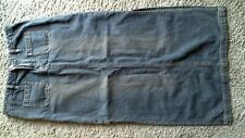 Juniors Union Bay Long Jean Denim Skirt Size 7 Great Fall Look
