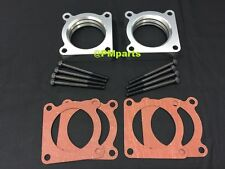 Billet Aluminum Throttle Body Spacer fit 09-15 Nissan Skyline GT-R R35 3.8L GTR