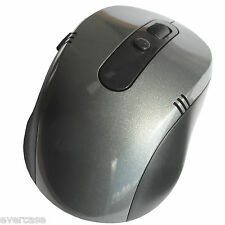 2.4G Wireless / Cordless Optical Mouse with USB Receiver. SILVER