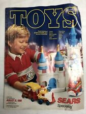 1988 Sears TOY Catalog Wish Book For Kids Barbie Jem Fisher Price Toys Vintage