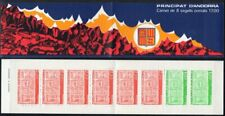 Andorra, French Administration Scott #330a VF MNH 1987 Arms Type Booklet