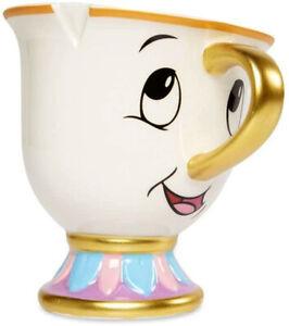 Tassilo Tasse Original Disney Chip Mug Becher Die Schöne und das Biest NEU & OVP