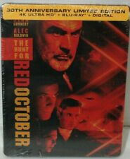 The Hunt for Red October -  4K/Blu-ray/Digital -  Steelbook