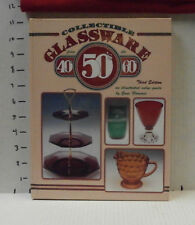 Collectible Glassware Book 40's 50's 60's 3rd Edition Gene Florence