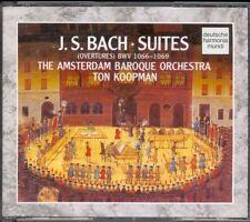 BACH - 4 Orchestral Suites - Ton KOOPMAN - Harmonia Mundi - 2CDs