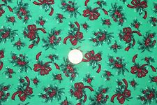 """CHRISTMAS BASICS"" COTTON QUILT FABRIC BY THE YARD FOR VIP CRANSTON FABRICS"
