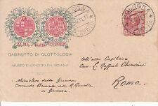 A5681) AUTOGRAFO, L. PULLE' DA MODENA, UNIVERSITA' DI BOLOGNA, GLOTTOLOGIA.