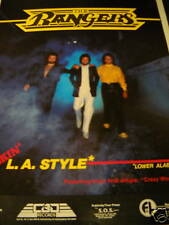 The Rangers are Smokin' L.A. Style 1982 Promo Trade Ad