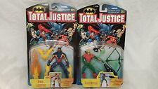 Total Justice Black Lightning & Green Arrow Figures