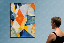 "39"" - THE MAGIC CLOCK__ORIGINAL painting by CIOCHINA T."