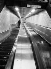 Photo. 1973-4. New York City. Subway Escalator